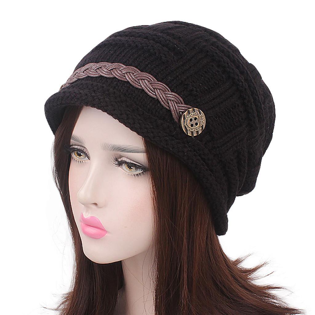 Women India Africa Muslim Elastic Turban Beanie Cap Winter Head Belt Scarf  Wrap Beanie Hat Women Winter Bonnet Femme Hiver 10 Beanie Caps Slouchy  Beanie ... e39052004c4