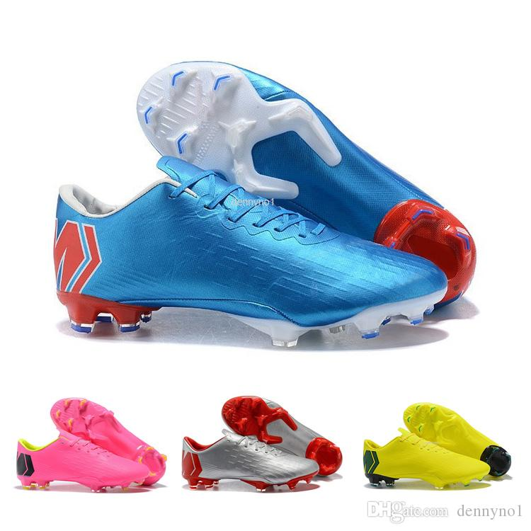2c4ee83821eca0 2019 Band New MV XII PRO FG Soccer Shoes Kids Blue Youth Pink Women Silver Men  Soccer Cleat Unisex Football Boots Online MV12 Collection From Dennyno1