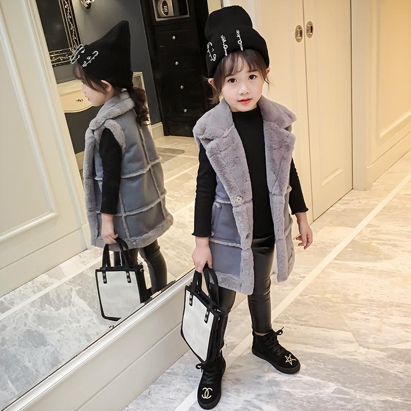 da8d83bb1ef Winter Jackets Girls Girls Winter Coat Children Outerwear Jackets Coats  Korean Version Of Little Girl's Coat Thermal