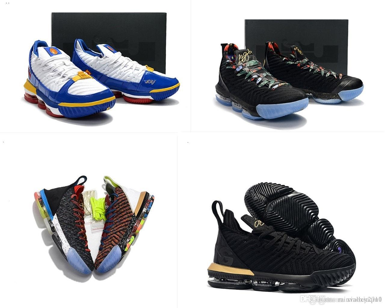 4499349611581 2019 New Lebron 16 XVI Basketball Shoes Mens For Sale Retro Lebrons ...