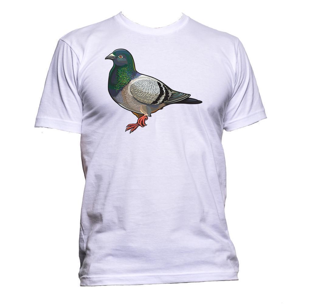 1ebd04f15c T-shirt Pigeon Animal Pet Hommes Femmes Unisexe Mode Slogan Comédie Cool  drôle jersey Imprimer t-shirt