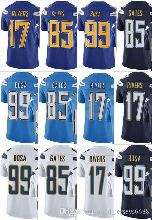 Charger 99 Joey Bosa 17 Philip Rivers 85 Antonio Gates Men Women ... ae086f007