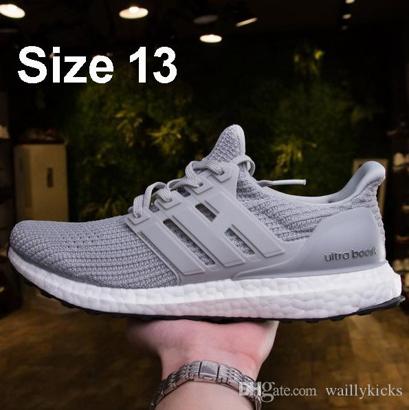 UltraBOOST by Running at DHgate, Ultra Boosts Shoes product size 13 Men Women Sneakers of your choice Triple White Black Multi Color Trainer