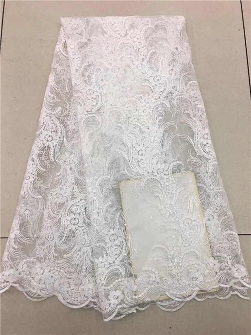 ff938e07ad African Lace Fabric With Stones French Lace Net Fabric Ankara Life Style  Mesh Voile Guipure Net Lace Dress Material For Wedding