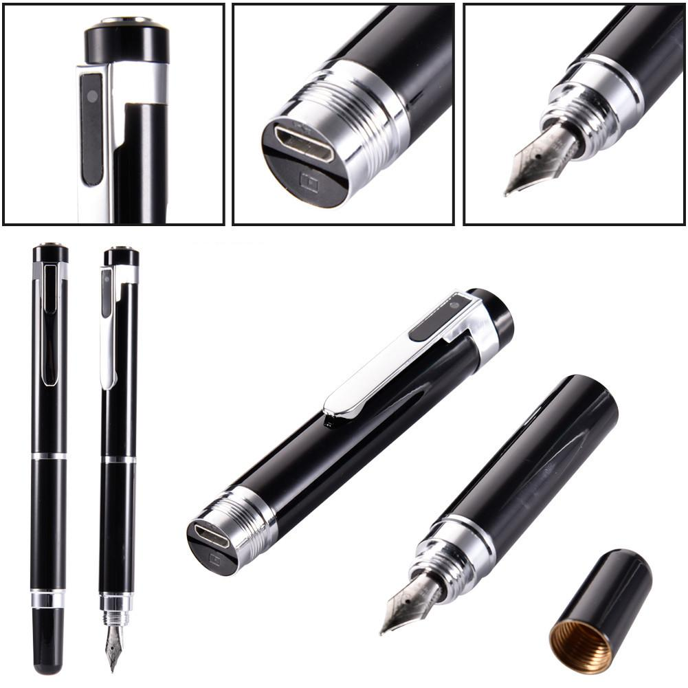 1080P Pen Mini Camera Surveillance DVs Cam Portable Mini Camcorder Security Nanny Camera for Home Office Pocket Video Camera Pen Body DVR