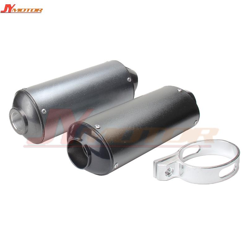28mm or 38mm Motorcycle Exhaust Muffler Pipe for 125 150 160cc Dirt Pit Bike ATV