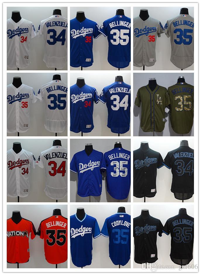 2019 Custom Men S Women Youth Los Angeles Dodgers Jersey  34 Fernando  Valenzuela 35 Cody Bellinger Blue Grey White Baseball Jerseys From Gzf606 23cca2b1777