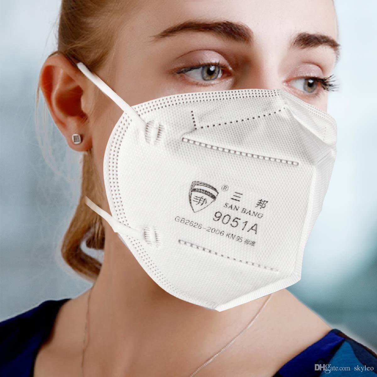 2020 KN95 Filter Cloth FFP2 Mask Disposable Face Mask ...