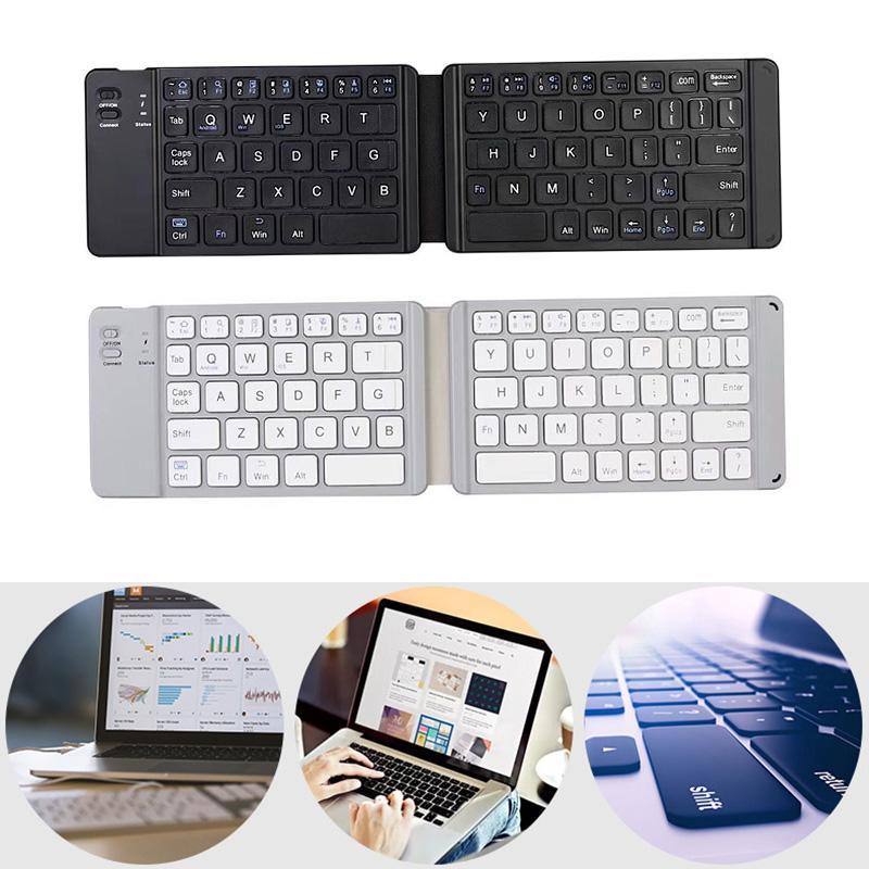 790d62c1671 Compre Liga De Alumínio De Dobramento Dobro Do Teclado De Bluetooth Para O  PC EM88 Do Telefone Móvel Da Tabuleta De Doper, $32.56   Pt.Dhgate.Com