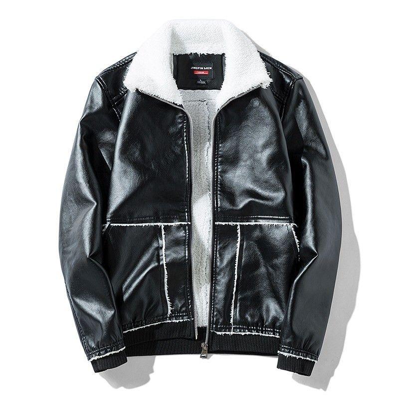 850ea9146e58 Varsanol Cotton Leather Jacket Coat Men 2018 New Brand Thick Bomber ...