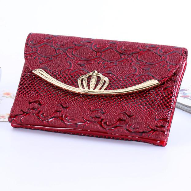 Luxary Lady Bags Crown Shoulder Bags Cover Zipper Messenger Envelope Bag Large Capacity Good Quality Female Money Keys Purse Bag