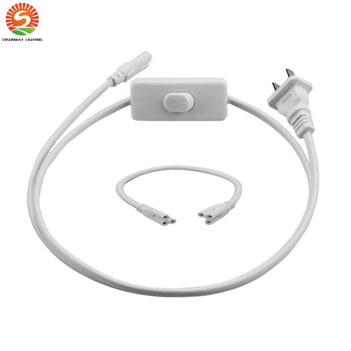 2019 Led Extension Cord Lamp Connecting Wire Double End Wiring A Light Fixture To Connector Cable For T5 T8 Integrated Tube Switch From