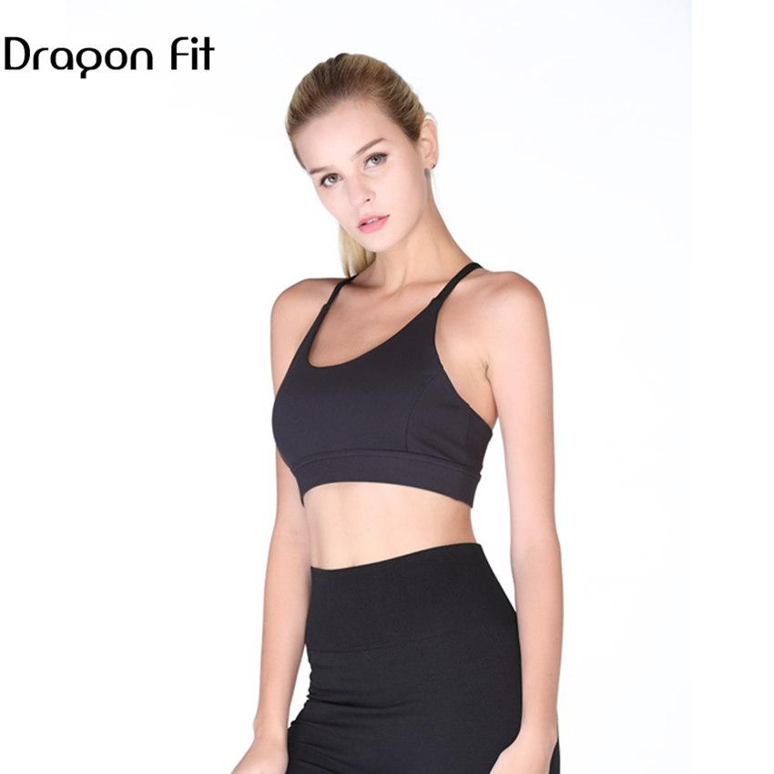 fcf837f94e259 2019 Dragon Fit Net Yarn Sport Bra Women Sweatshirt Quick Drying Eleastic  Yoga Sports Brassiere Top Comfortable Breathable Yoga Bra From Ahaheng