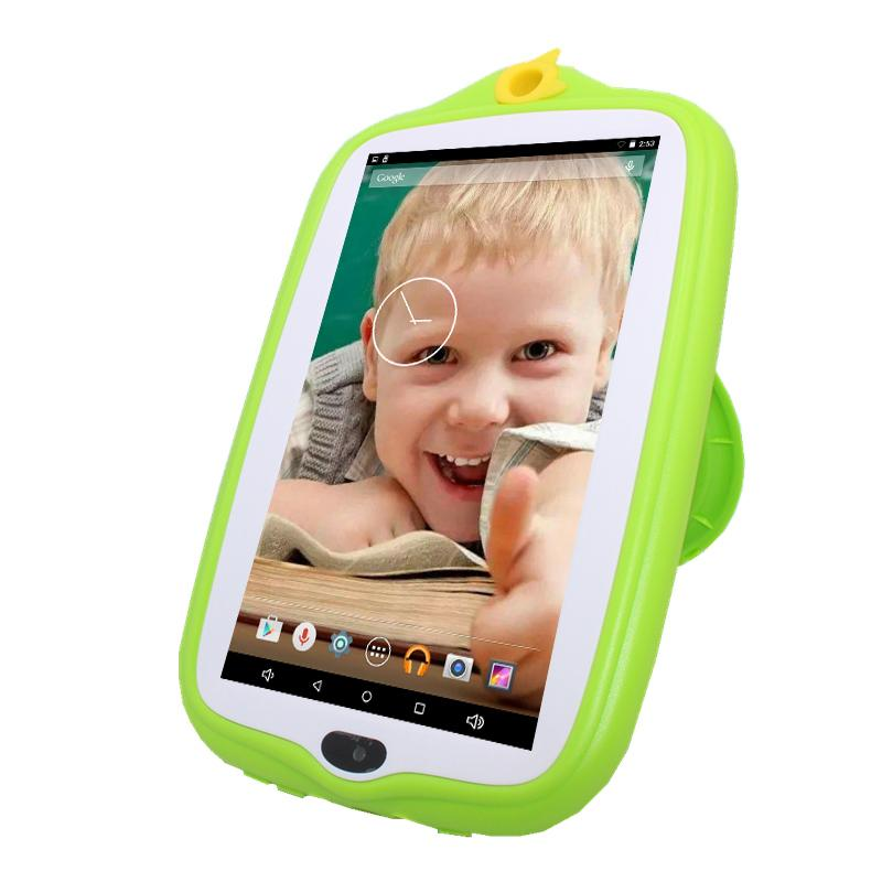 kids' G708 Tablet PC 7 Inch Allwinner A33 512MB/1GB+8GB Quad Core 1024*600 Dual Cameras Android 4.4 Colorful Tablet
