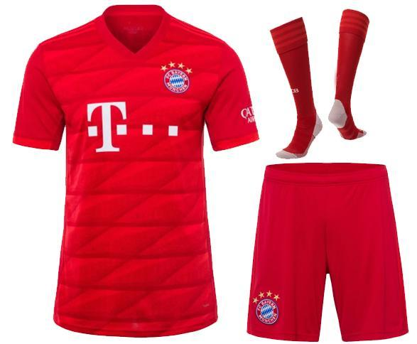 Bayern Munich Schedule 2020 2019 2019 2020 Bayern Munich Adult Kit Soccer Jersey 19 20