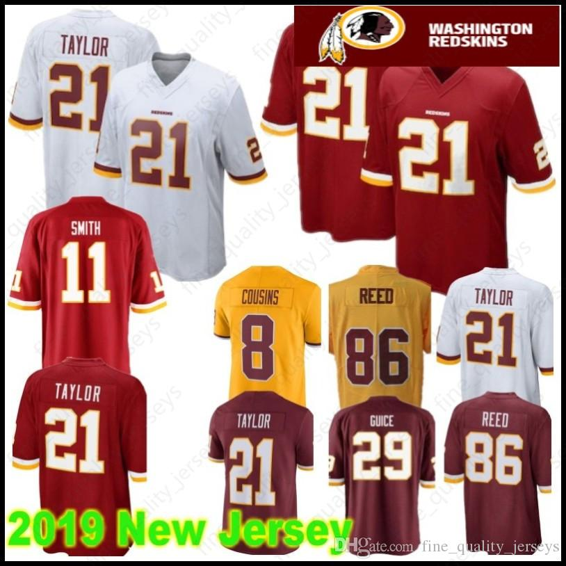 online store 207dd c89c3 Stitched 26 Adrian Peterson Washington Jerseys Redskins 21 Sean Taylor 11  Alex Smith 72 Eric Fisher 86 Reed 8 Kirk Cousins 29 Guice 95 Payne