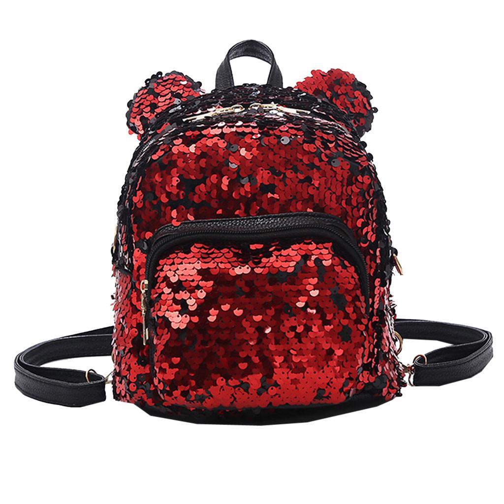 Fashion Lady Sequins School Backpack Satchel Girls Student Travel Shoulder  Bag Wholesale Dropshipping Zaino Da Donna 30 Backpacks Cheap Backpacks  Fashion ... 28ba1b8bd615b
