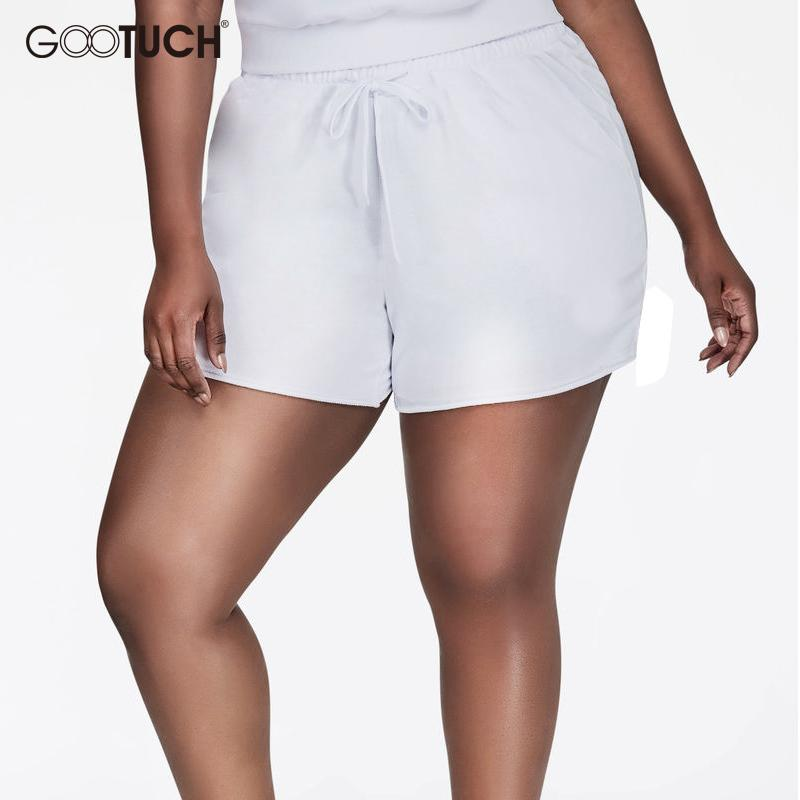 48ed2355a New Style Plus Size 5xl 6xl 7xl Women s Cotton Shorts Causal Home Short  European Size Summer Women Fitness Boxer Shorts 7304a Y190429