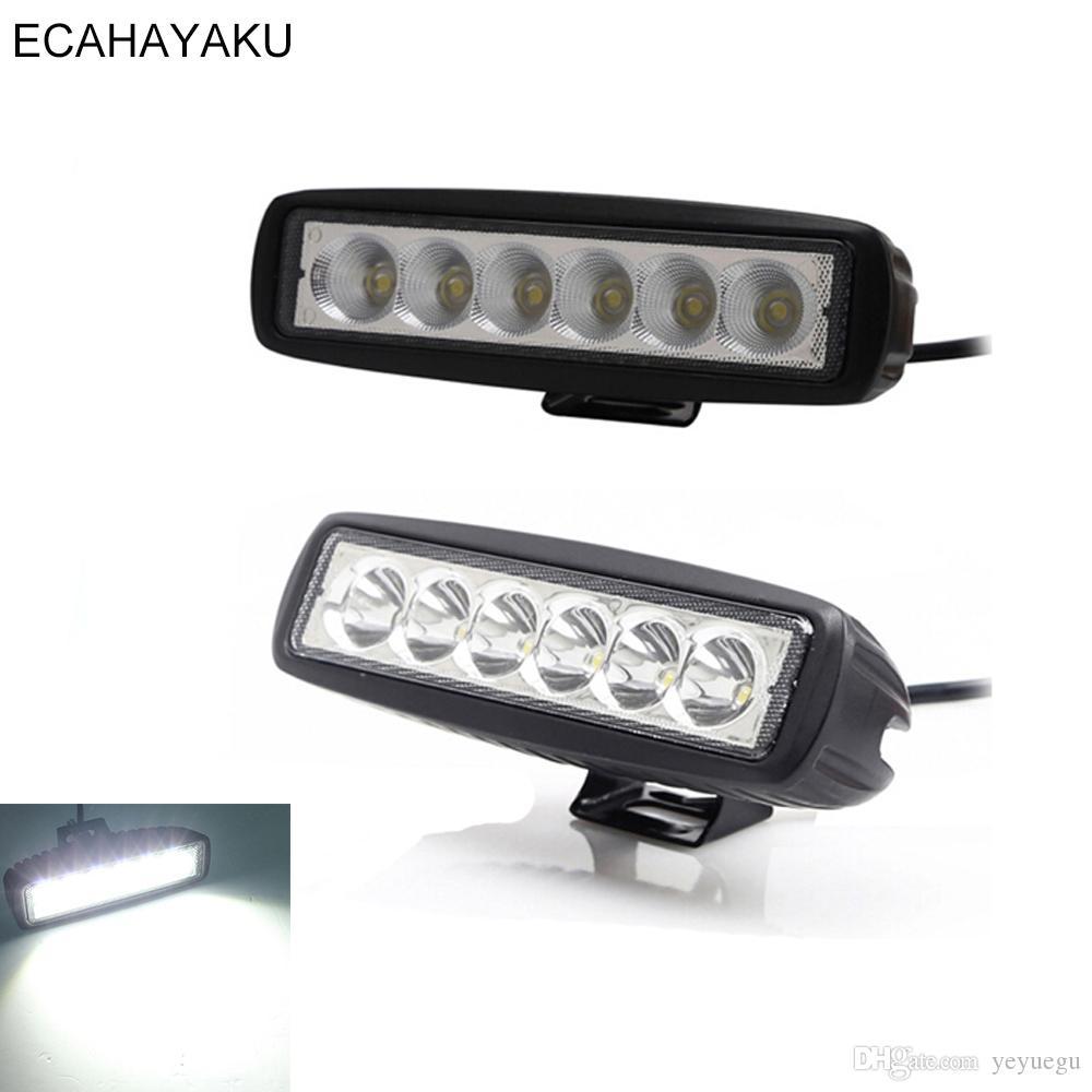 1PCS 6INCH 36W LED WORK LIGHT BARS SPOT FLOOD OFFROAD ATV FOG TRUCK LAMP 4WD 12V Car & Truck Light Bars
