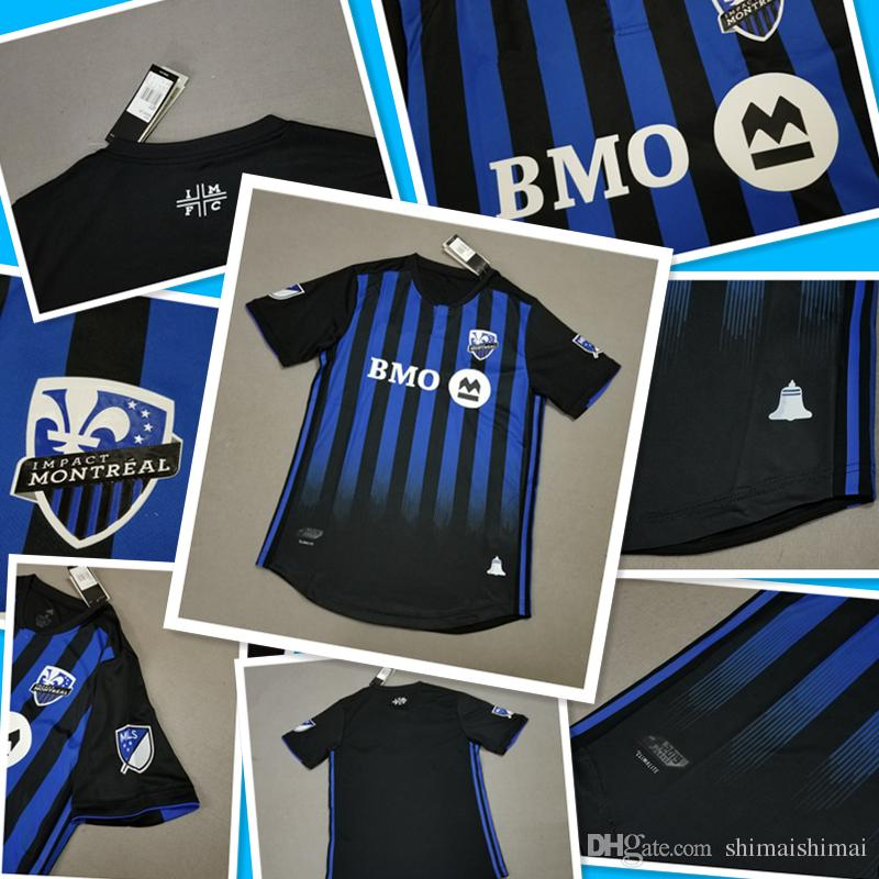 check out 3153d d04e9 19 20 Thai Quality Montreal Impact Soccer Jersey home MLS 2019 2020 new  season football Shirt With patch More 10pcs Free upgrade DHL