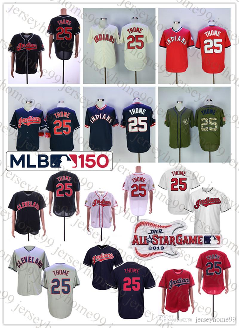 2019 Men S Cleveland Indians Jim Thome Majestic White Red 2019 Flex Cool  Base Player Jersey With All Star Game 150th Patch From Jerseyhome99 a4fb351ec5ac