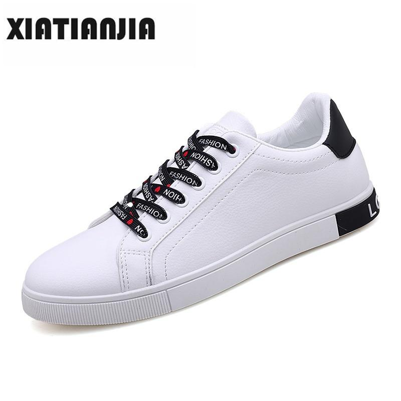642c1aa5104 2019 Men Canvas Shoes Height Increasing Casual Shoes Men Sneakers Lace Up  Student Chaussure Hommesize 39 44 Heren Schoenen White Mountain Shoes  Sneakers ...