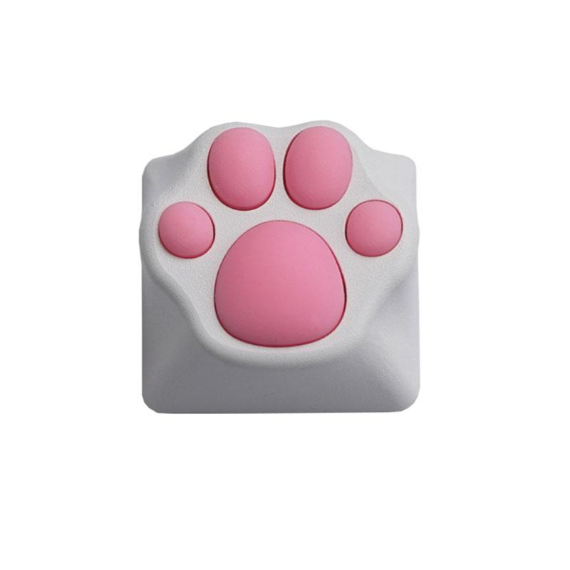 Cute Cat Claw Metal Keycaps For Mechanical Keyboard Soft Feel Cat Pad Key Cap Suitable For Cherry Switch Keyboards