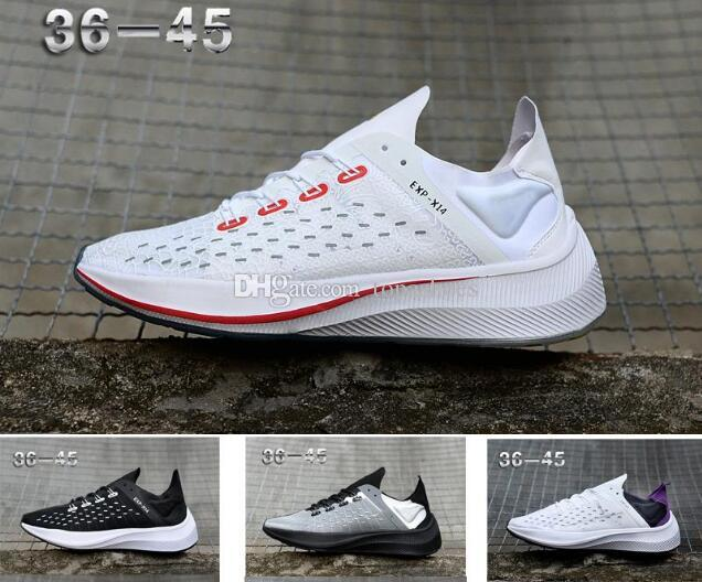 size 40 6db75 7bf61 wholesale 2019 New Zoom Fly EXP-X14 WMNS PEGASUS 35 Tapered heels Casual  Comfortable 36 translucent Men Running Shoes Women Sports Sneakers
