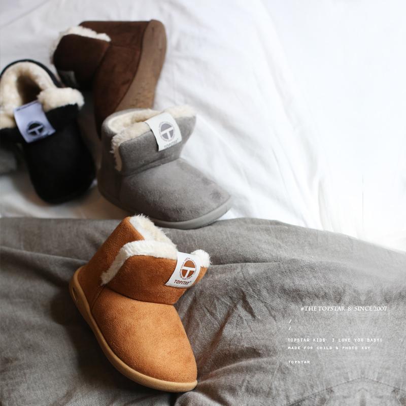 Acquista 2019 New Winter Neonati Maschi E Femmine Scarpe Bambini Moda  Stivali Da Neve Peluche Cotone Caldo Fibbia Spessa Strap Shoes  Abbigliamento Bambini A ... d22db9ddb9f