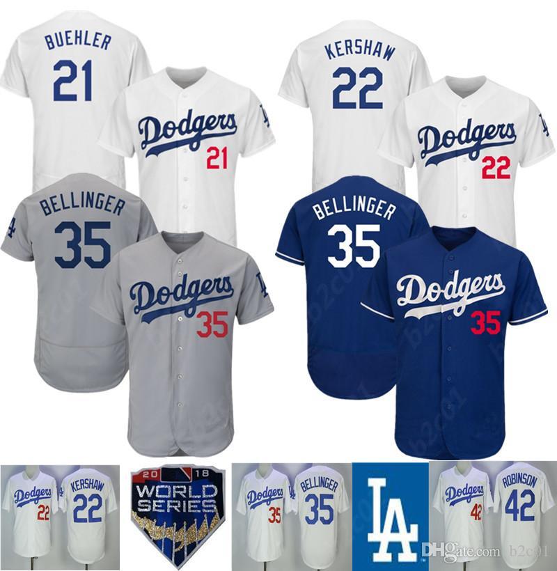 meet fb7e8 0f9d8 LA Dodgers Jersey Clayton Kershaw Corey Seager Justin Turner Kike Hernandez  Cody Bellinger Walker Buehler Russell Martin jerseys