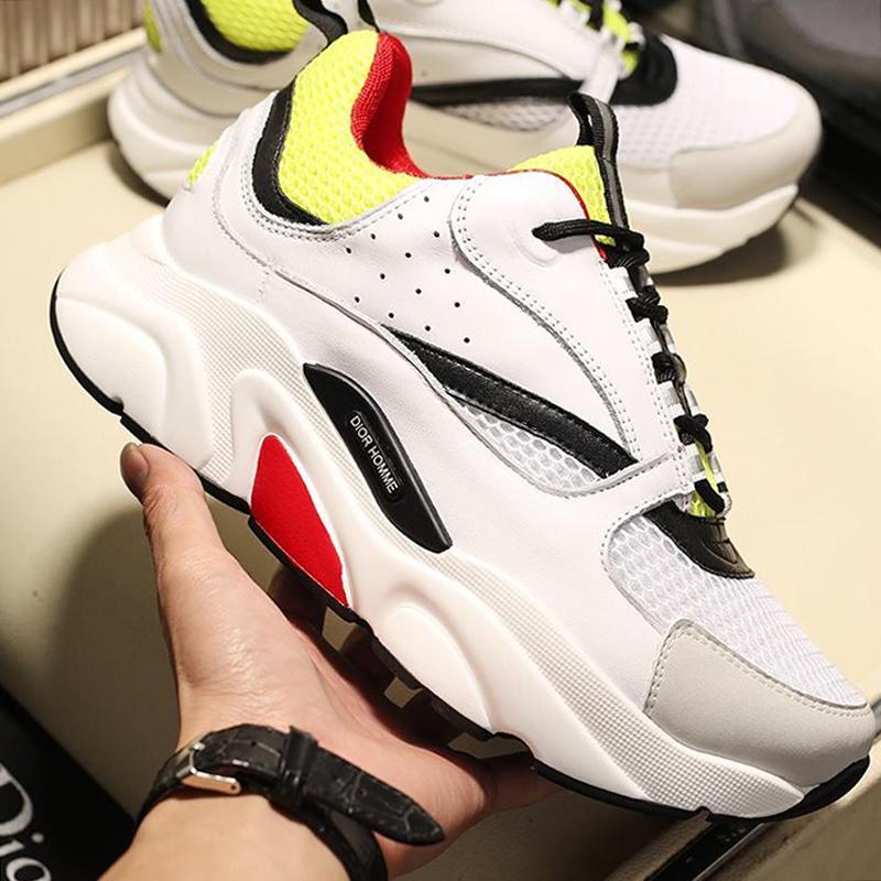 cheap for discount 7ca65 a2479 Novità 2019 Scarpe sportive da uomo B22 Sneaker in pelle di vitello tecnica  Chaussures pour hommes Scarpe da uomo in pelle di grandi dimensioni Drop ...