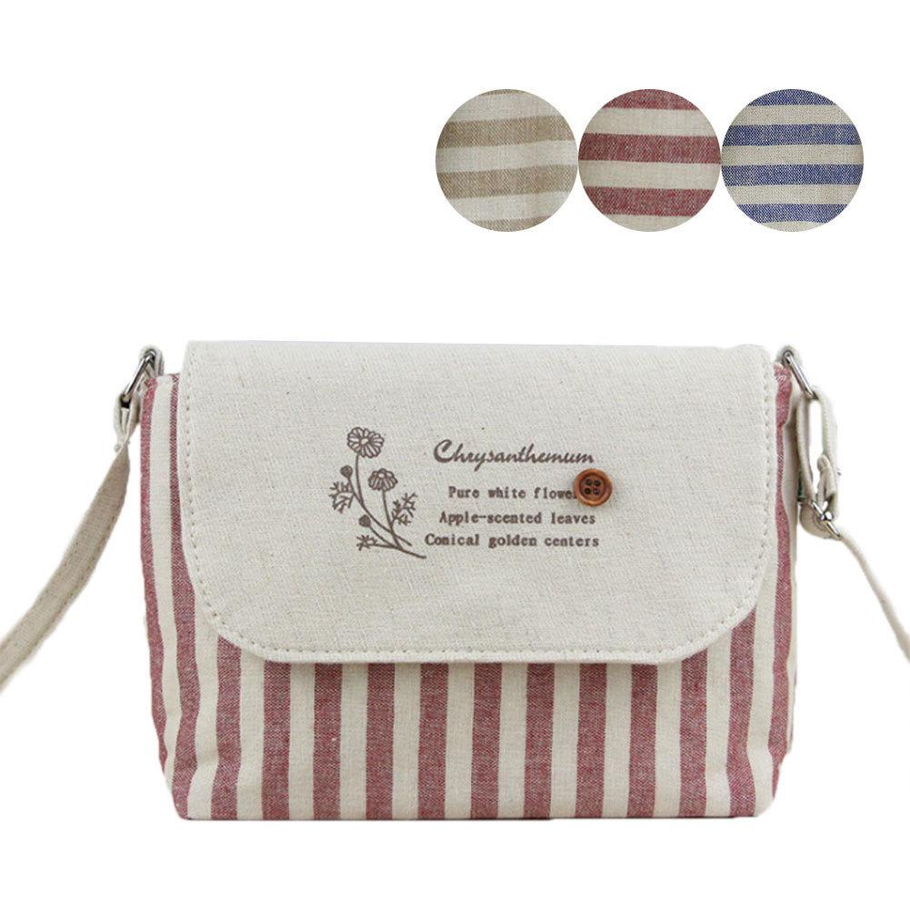 Cheap Cute Lady Girl Casual Messenger Crossbody Bags New Arrival Women Mini  Canvas Shoulder Bag Striped Handbags New Year Gift Popular Leather Handbags  Hand ... 7193ea546