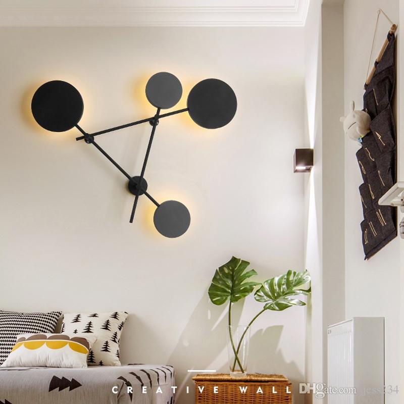 Großhandel Moderne Decken LED Wandleuchten Nordic Leuchten Loft ...