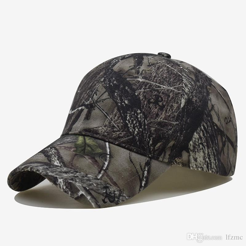 Cross-border Spring and Summer Outdoor Sunscreen Quick-drying Hat Jungle Leaves Camouflage Anti-terrorism Sniper Cap Men and Women's Camoufl