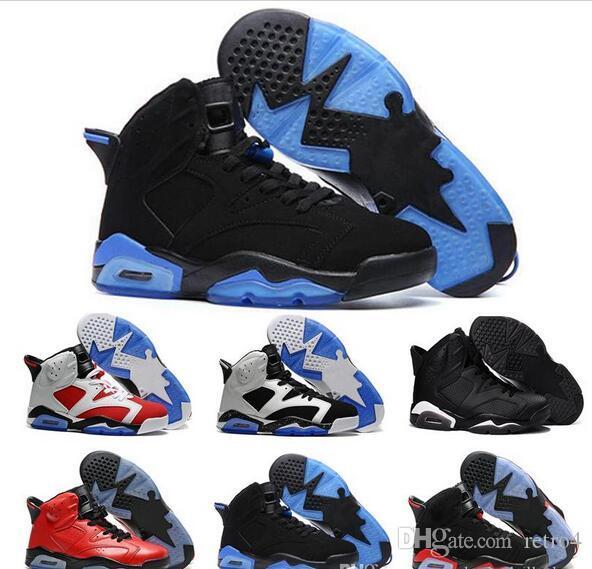 8863384f6bdf Men 6 6s Basketball Shoes Shoe Blue Black Cat White Infrared Red Carmine  Maroon Toro Mens Designer Shoes Trainer Sport Sneaker Shaq Shoes Kd  Basketball ...