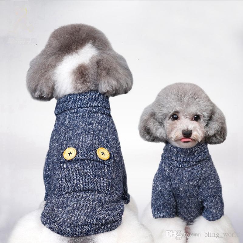 Compre Ropa Para Mascotas Para Perros Marca Suéteres Para Perros ...
