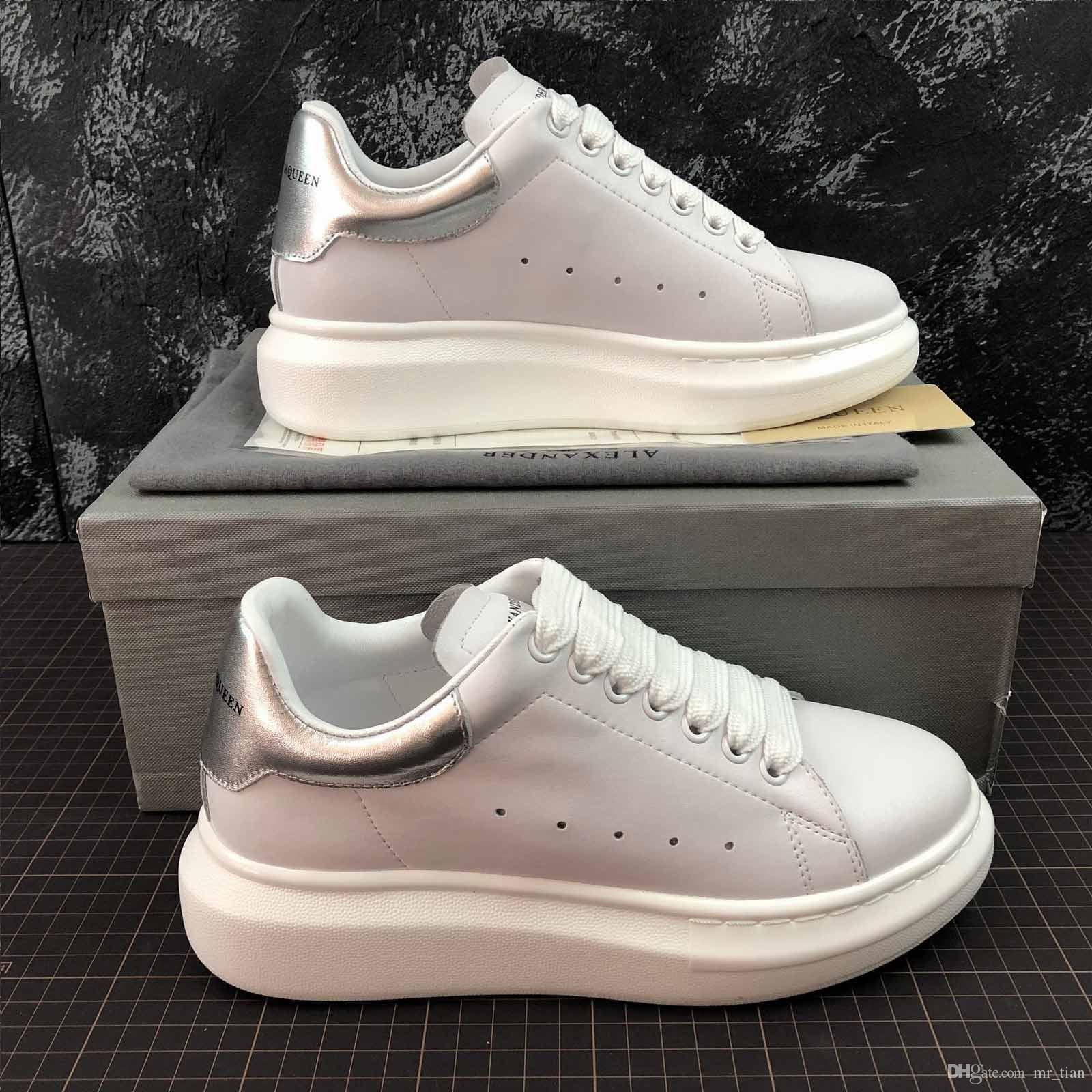 02ff051757 Compre Alexander McQueen Sole Sneakers 2019 Calzado Casual Negro Con La  Comodidad Del Diseñador Y Una Hermosa Lentejuela, Calzado Deportivo,  Calzado Casual ...