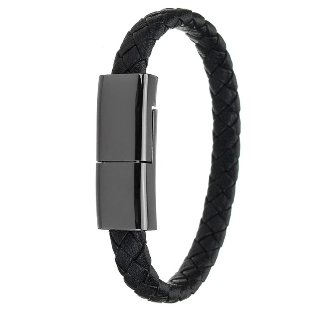 Portable Sports Bracelet USB Charger Cable Phone Data Line Adapter Quick Charge Fast for iPhone X 7 8 Plus Samsung S8
