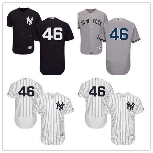 2019 2018 New York Yankees Jerseys  46 Andy Pettitte Jerseys  Men WOMEN YOUTH Men S Baseball Jersey Majestic Stitched Professional  Sportswear From ... c52d483c6f9