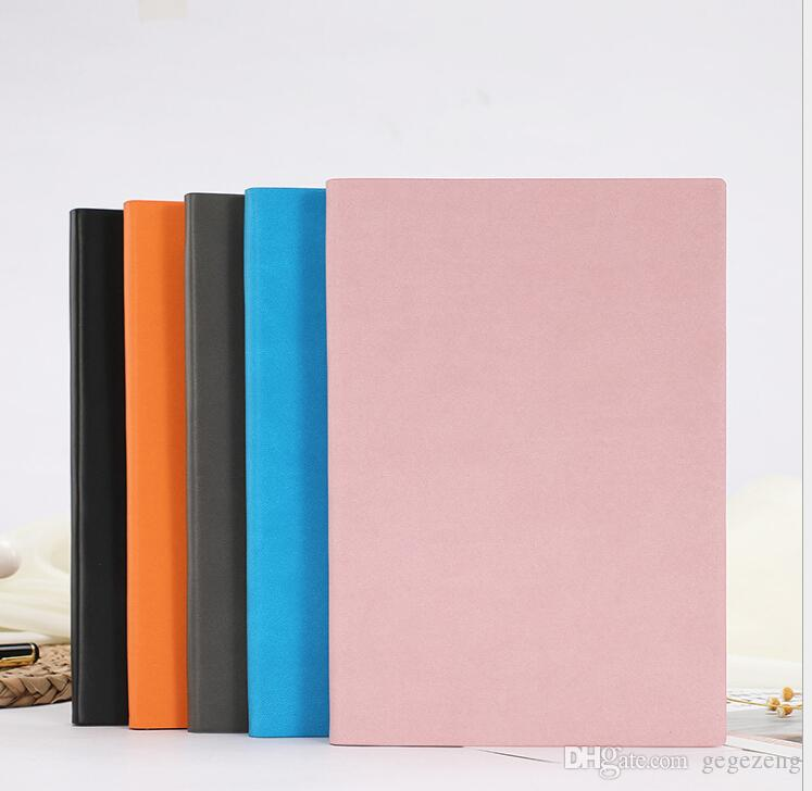 Wholesales Free shipping Hot sales Soft leather notebook custom creative portable portable small pocket notebook stationery
