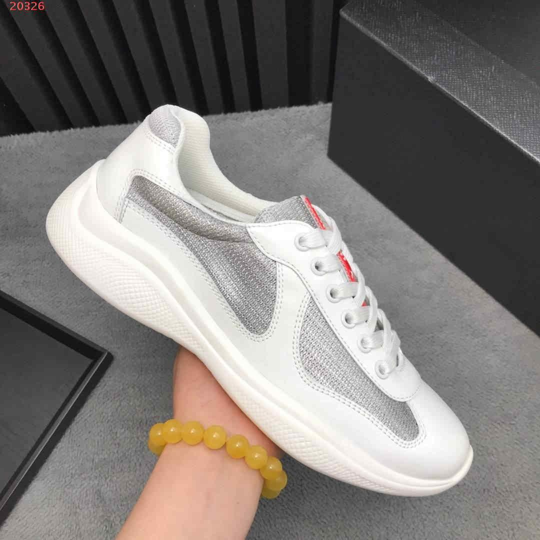 5c25bcc2957 2019XXX new Luxury high-end sneakers Brand designer men s casual shoes  black and white hot sale with the packing hot sale