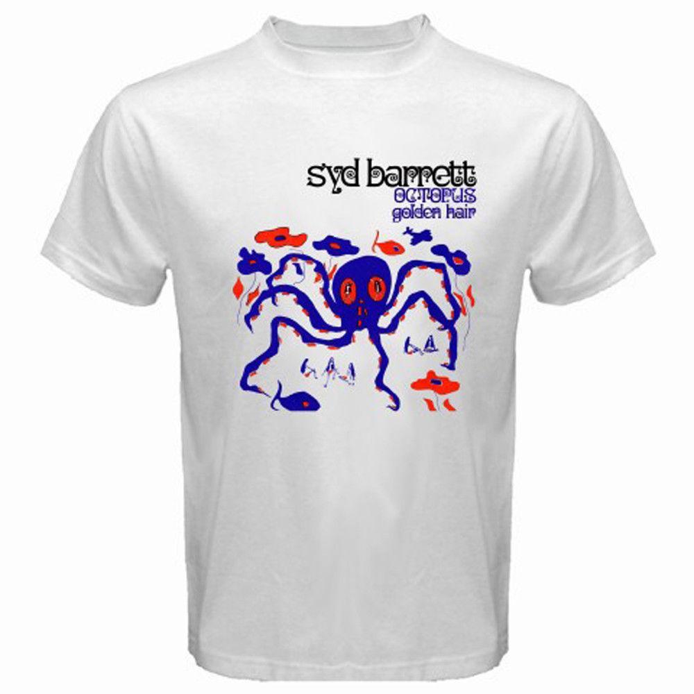 14d5fb7e New Syd Barrett Octopus Golden Hair Album Men's White T-Shirt Size S to  3XLMen Women Unisex Fashion tshirt Free Shipping