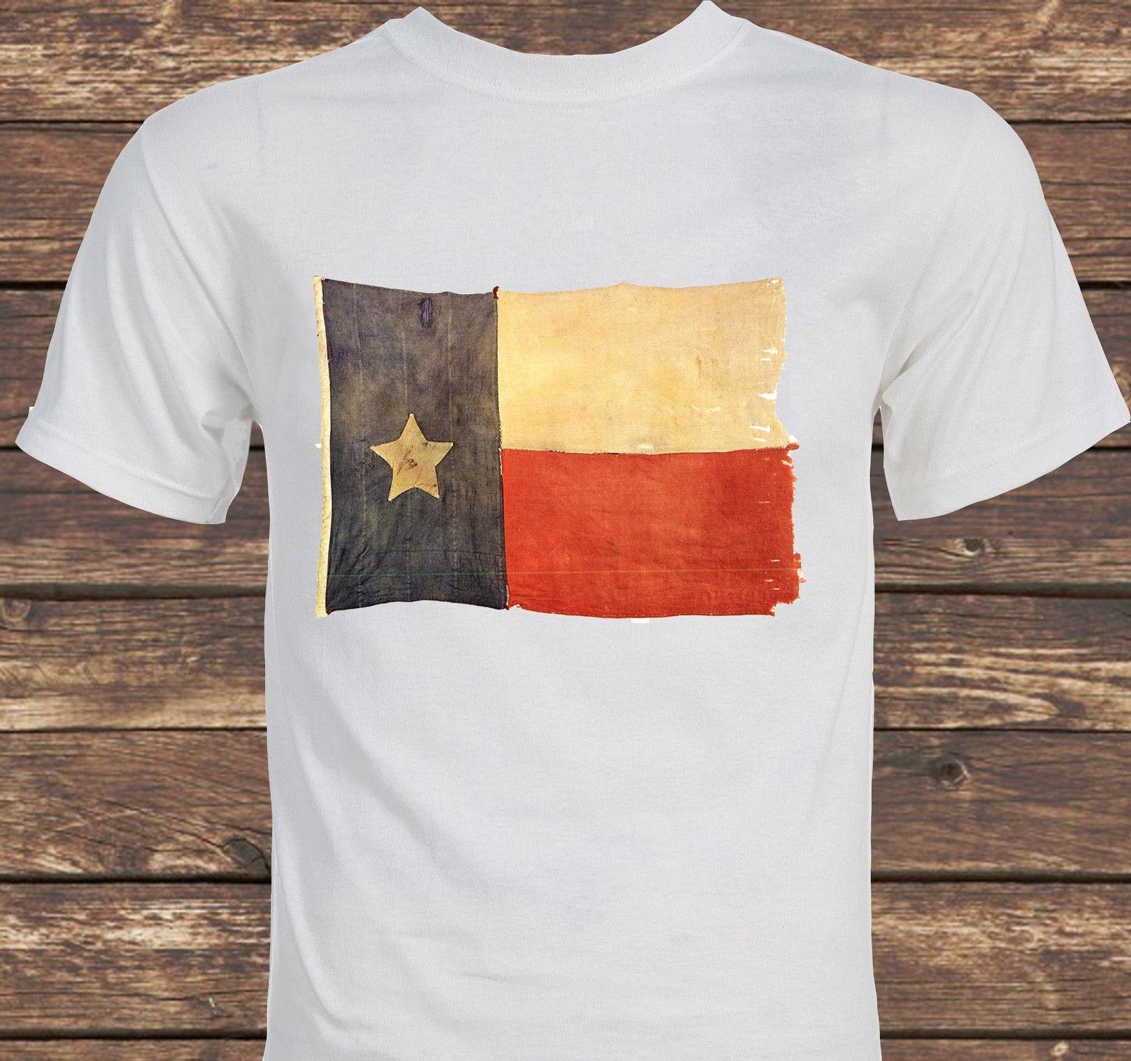 Old Texas Flag Lone Star non scherza con la t-shirt texas T-shirt size hot new tshirt