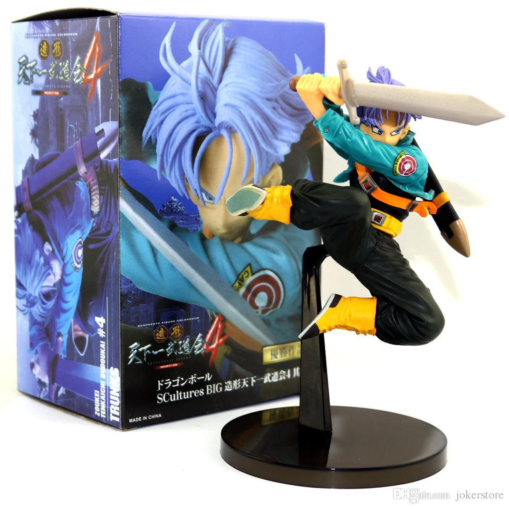 2019 Dragon Ball Z Torankusu Trunks Jump Anime Figures Action Figure Christmas Gifts Toys Birthdays Doll New Arrvial Hot Sale From Jokerstore