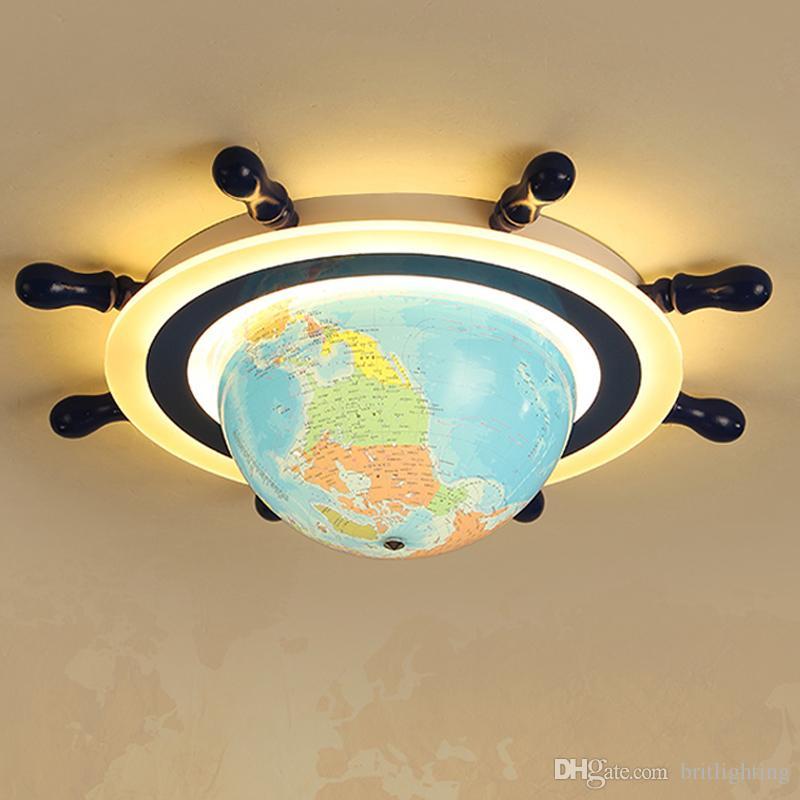Lampe Bande Globe Plafond Des De Chambre Dirigée Yeux Protection Enfants Pour Maternelle Dessinée Jeux Led Aire D'enfant Vers tdCxhrQsB