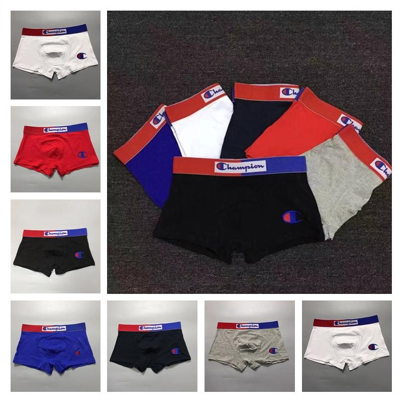 b39bd492cc36 2019 Champions Men Underwear Cotton Boxers Letter Print Breathable  Underpants Brief Shorts Casual Mens Waistband Underpant M 2XL B3182 From  Top_seller6, ...