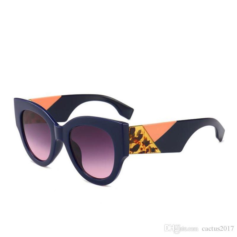97a7fe70fb Cat Eye Sunglasses Women Luxury Style Frame Brand Designer Retro Sun Glasses  For Women Hipster Shades Designer Ladies Eyewear Sun Glasses Eyewear From  ...