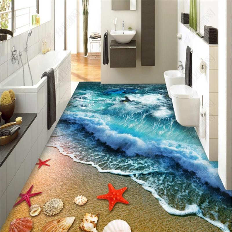 . Beibehang Tackle Fashion Oboe Loot Classic Free 3d Bath Communal Paper  Skirt From Wall 3d To Room Attacked Pole