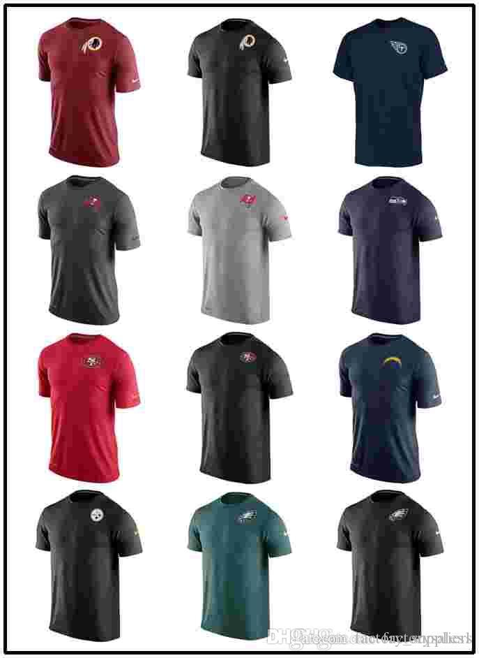 Mens T Shirts Philadelphia Eagles Pittsburgh Steelers 49ers Seattle  Seahawks Tampa Bay Buccaneers Titans Redskins Stadium Touch Performance  Pittsburgh ... ae3e1693f