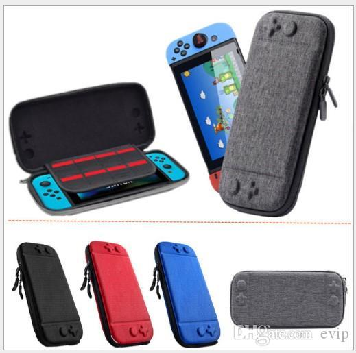 For Nintendo Switch Console Case Durable Game Card Storage Bag Carrying  Case Hard EVA Bag shell Portable Carrying Bag Protective Pouch